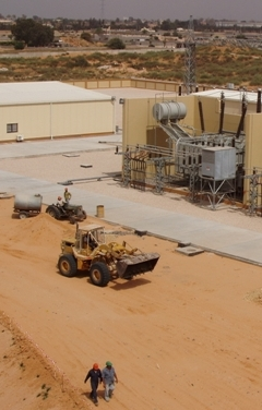 Areva's Bir Osta Milad substation in Libya copycreditpeterfairley2008