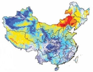 China wind capacity-factor projection. Credit Michael McElroy