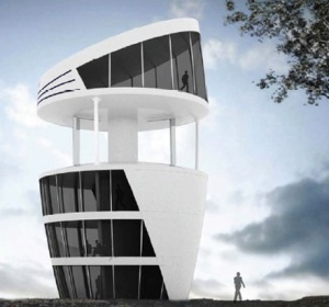 Turbine House: Design by Michael Pelken & Thong Dang