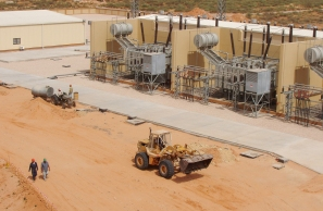 Scuds to Kilovolts: This 300kv substation outside Tripoli, once the site of a Scud missile factory, will help link the North African and European power grids