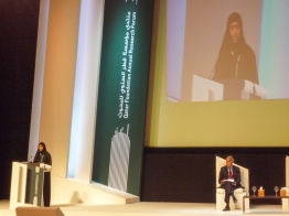 Arising: Women scientists and engineers were eager to make their mark at the Qatar Foundation's annual research forum in 2011