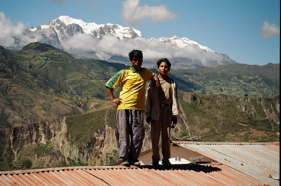 Looming Less Large: The Cordillera Réal secures Bolivia's water supply, but its glaciers are melting fast