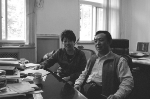 Coal Chemist: Du Minghua (right) promoted technical improvements to reduce water consumption from coal-based chemicals and fuel production